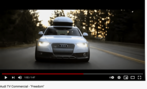 Audi Freedom Commercial